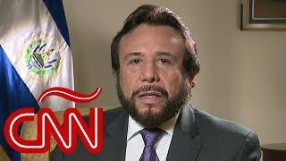 Vicepresidente de El Salvador reacciona al acuerdo migratorio entre México y EE.UU.