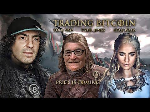Trading Bitcoin w/ Tyler Jenks on Today's BTCUSD Price Drop