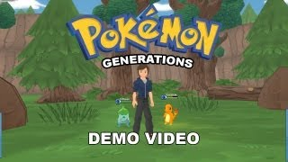 Pokemon Generations Demo Playthrough