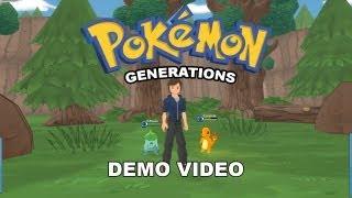 Pokemon Generations Demo Playthrough