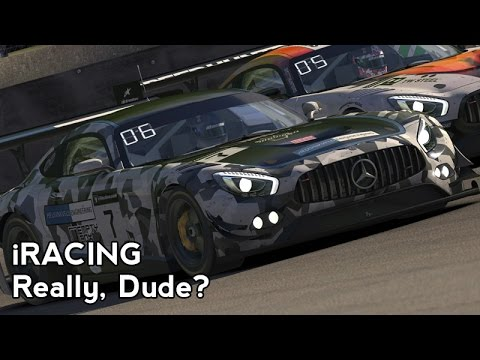 iRacing : Really, Dude? (AMG GT3 @ Brands Hatch)