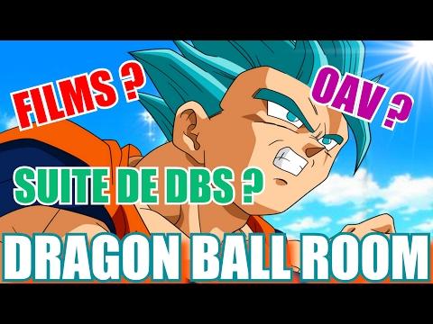 DRAGON BALL ROOM : NOUVEAUX FILMS; OAV; SERIES & JEUX DRAGON BALL (SUPER) !  - PasLeTemps#27