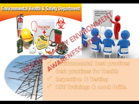 Health & Safety Environment Awareness video