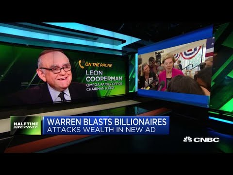 Billionaire Leon Cooperman responds to Senator Warren's CNBC wealth tax ad
