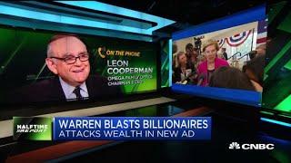 Billionaire Leon Cooperman responds to Senator Warren's CNBC wealth tax ad
