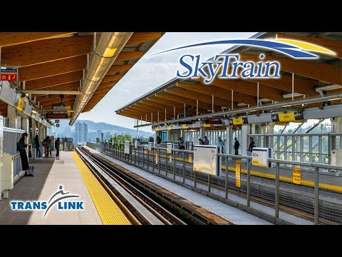 Vancouver Skytrain - From King George to Waterfront