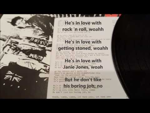 The Clash   Janie Jones karaoke +1#