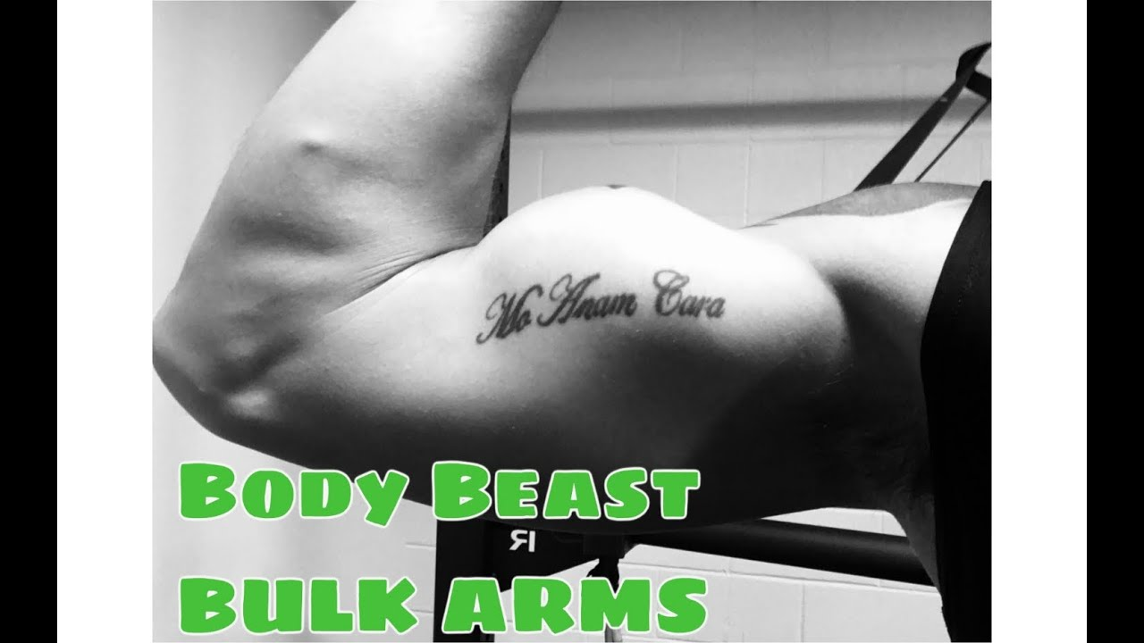 Body Beast Bulk Arms Workout (See The Moves)