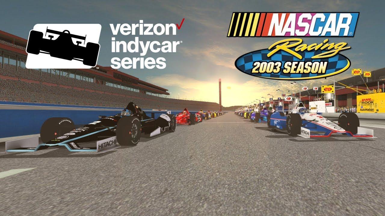 Indycar Fontana - Fun Race - NR2003 by GPLaps