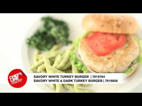 Chef's Line Turkey Burgers