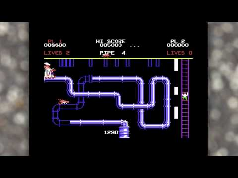 Casual C64 gaming 002 - Super Pipeline