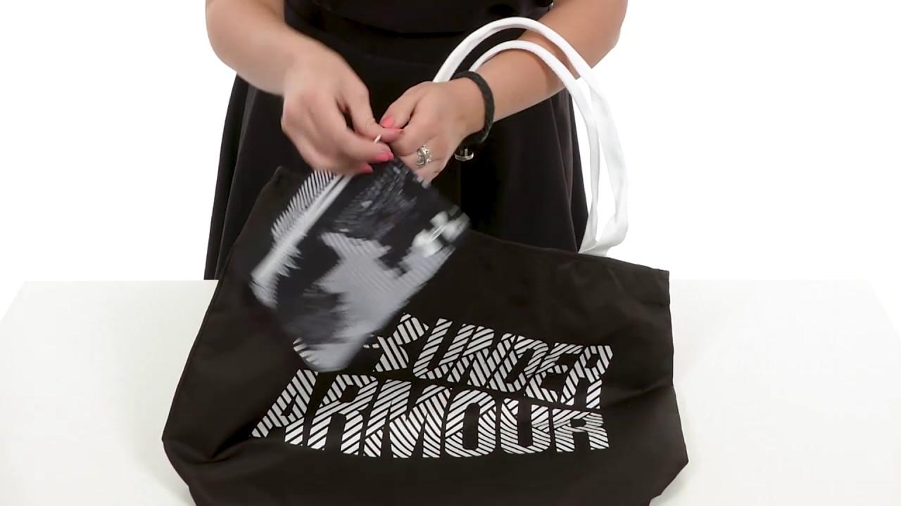 Under Armour UA Big Wordmark Tote 2.0 SKU 8871679 - YouTube caddde432ab09