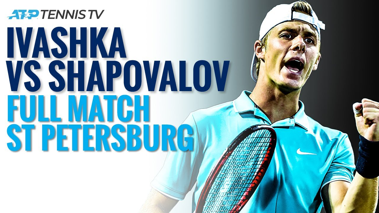 Ilya Ivashka v Denis Shapovalov - Full ATP Tennis Match | St Petersburg 2020