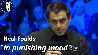 Ronnie O'Sullivan | Lowest total clearance in professional snooker? Very likely