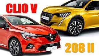 Renault Clio V / Peugeot 208 II - Informe - Matías Antico - TN Autos