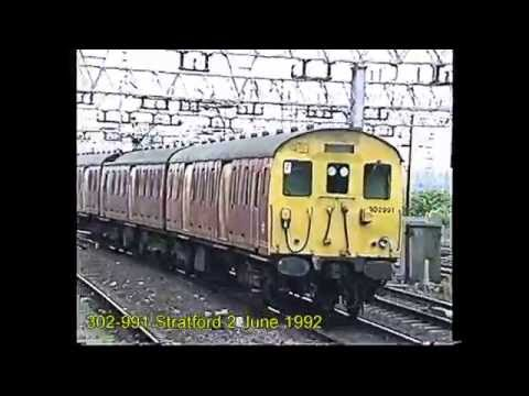 British first generation 25Kv EMUs Classes 302 to 310 between 1992 & 2000