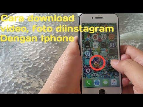 Cara Download Video, Foto Di Instagram Dengan Iphone