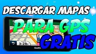 DESCARGAR Y ACTUALIZAR MAPAS PARA GPS GRATIS 2017 Free HD Video