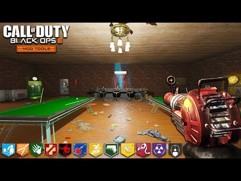 "ONE WINDOW BAR CHALLENGE *expensive* - BLACK OPS 3 ""CUSTOM ZOMBIES"" MAP! (Call of Duty: Zombie Mods)"