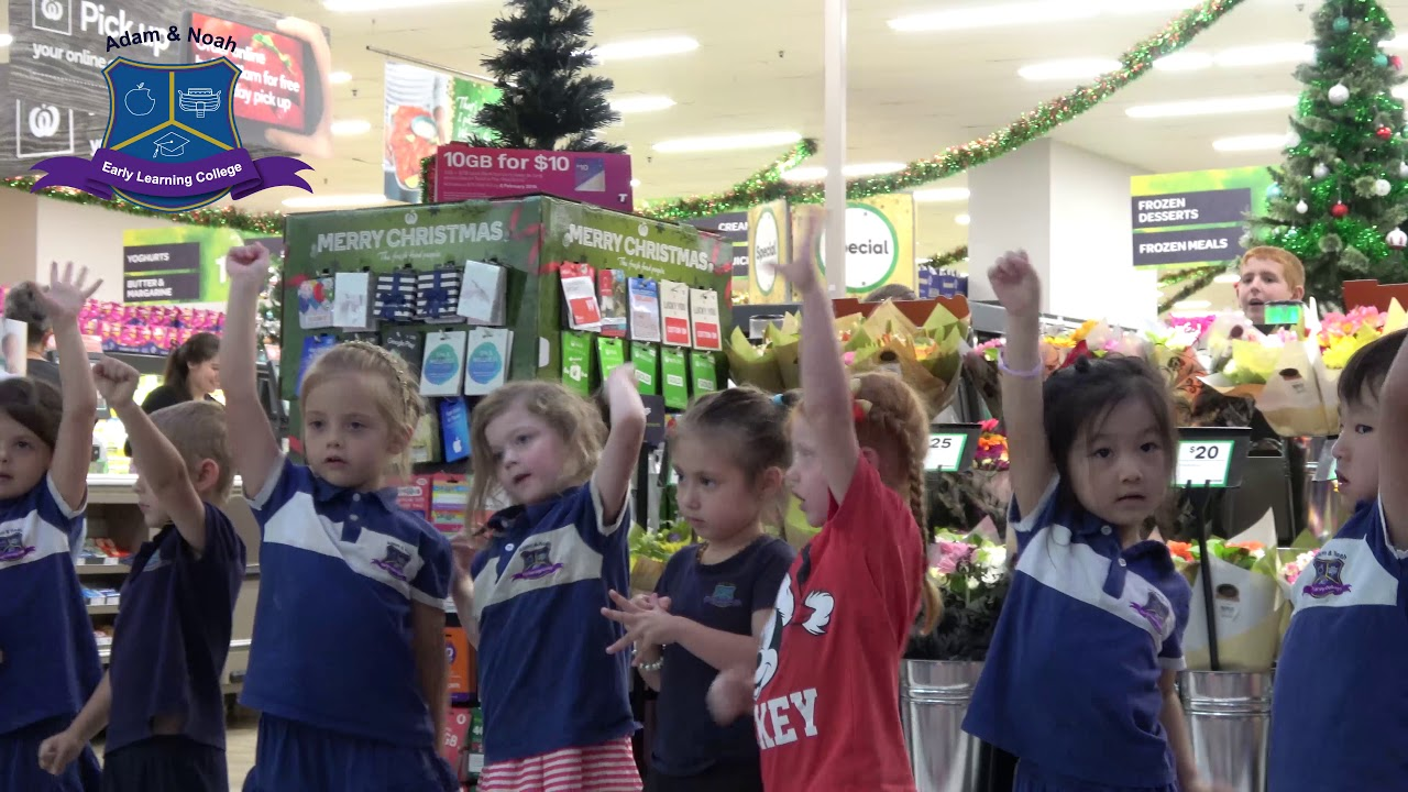 Christmas Carrolls 2017 At Adam And Noah Early Learning College
