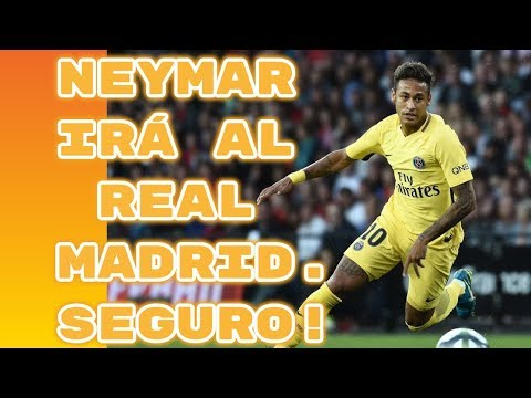 Neymar al Real Madrid!