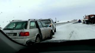 Авария, трасса боровое-астана  03.02.2013