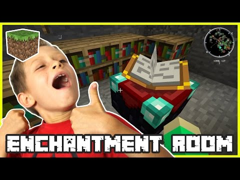 Creating Enchantment Room with GamerGirl karinaOMG | Minecraft