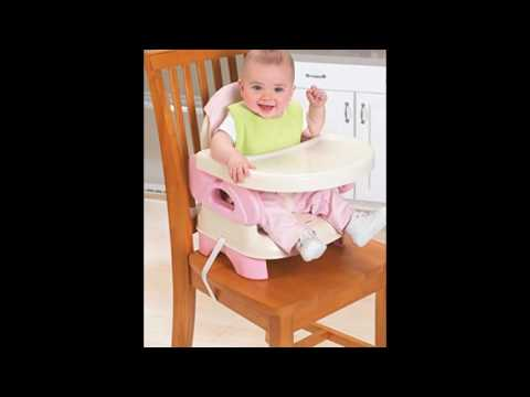 Summer Infant Deluxe Comfort Folding Booster Seat, Pink ...