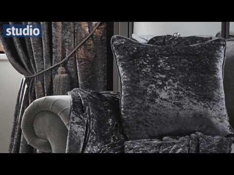 Studio - Crushed Velvet Curtains