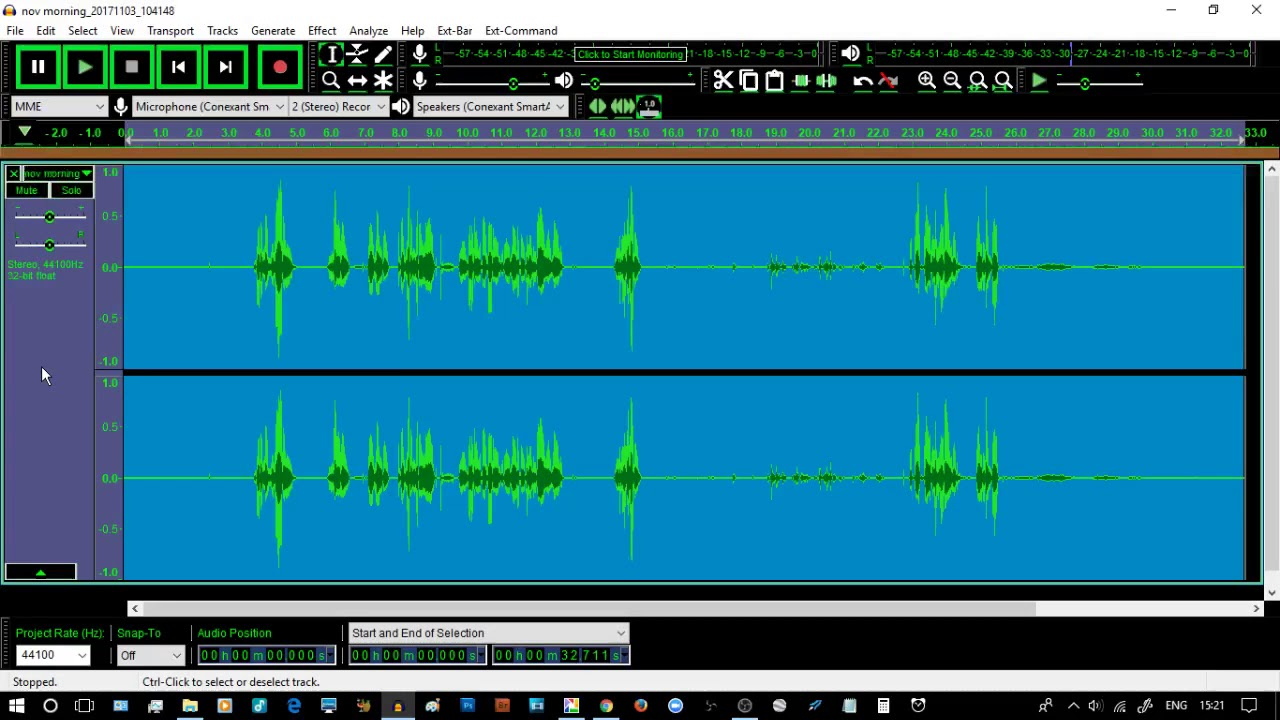 Audacity Audio Editor 2 2 0 How to clean audio with Noise Reduction,  Normalise and Compressor