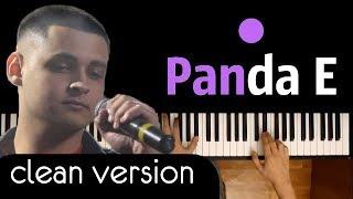 CYGO - Panda E  караоке | PIANO_KARAOKE   + НОТЫ & MIDI | Правда, покорила меня, твоя правда ...
