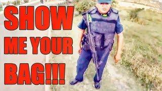 Cops Vs Bikers - NOW THAT'S A GUN!!!