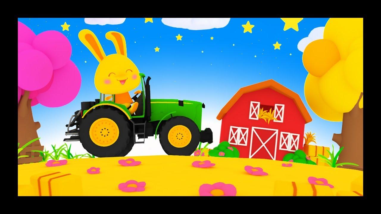 Comptines des animaux de la ferme - Chansons pour enfants