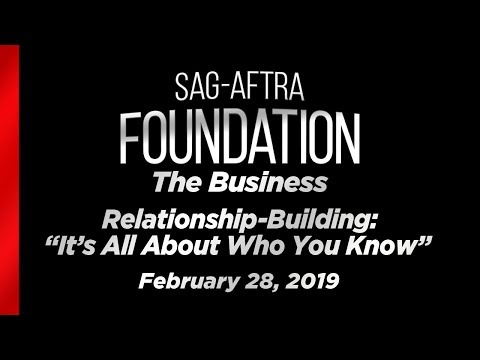 "The Business: Relationship-Building - ""It's All About Who You Know"""