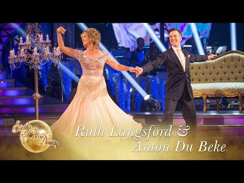 Ruth Langsford and Anton Du Beke Waltz to 'This Was Nearly Mine' by Seth MacFarlane