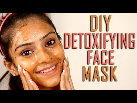 DIY Detoxifying Face Mask | Get Clear Fresh Skin | Home Made Detox Face Mask | Foxy Makeup Tutorial