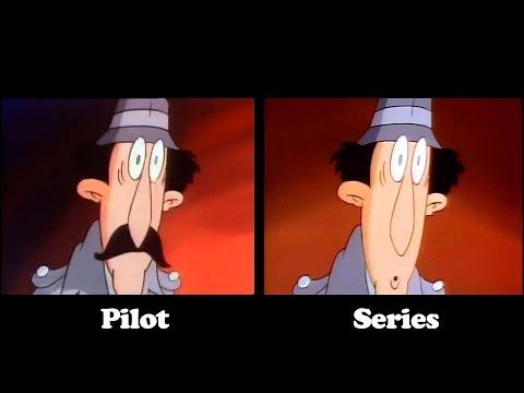 INSPECTOR GADGET Side by Side COMPARISON Pilot vs. Series Intro