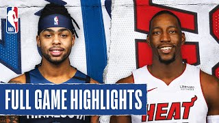 TIMBERWOLVES at HEAT | FULL GAME HIGHLIGHTS | February 26, 2020