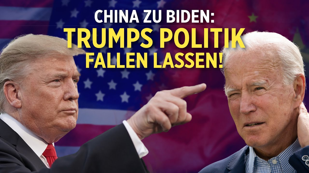 Peking: Biden soll Trumps Politik fallen lassen | Chinesischer Sender beantragt Lizenz in Frankreich