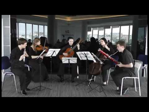 Телеман, Георг Филипп - Соната для 2-х скрипок, альта и бассо континуо фа мажор