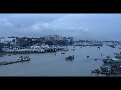 View of Sadarghat Launch Terminal Area | Dhaka River Port