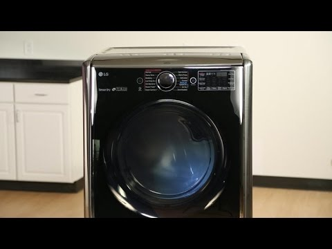 LG's DLEX 5000 has hot looks and dries clothes fast