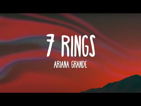 Ariana Grande - 7 rings (Lyrics)