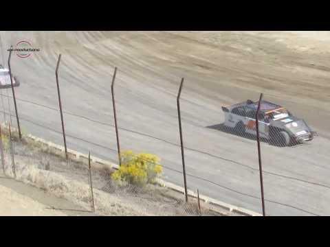 Desert Thunder Raceway IMCA Sport Mod Heat Races 9/30/18