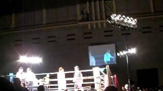 激突II    高森啓吾(谷山ジム)VS森トシヒロ(神風塾)