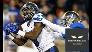Michael Gallup and Anthony Miller are top WR NFL Draft prospects that no one is talking about