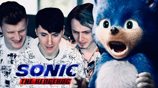 HERE WE GO... || Sonic The Hedgehog Movie Trailer Reaction