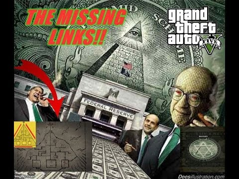 GTA 5 Mystery: Missing Link To Solving The Chiliad Mural. Mural Real Life EasterEgg? Pyramid Scheme!