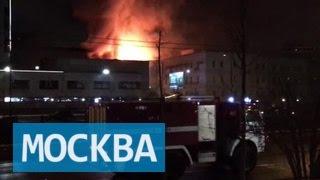 Пожар на Стромынке: в горевшем здании найдены тела восьми человек