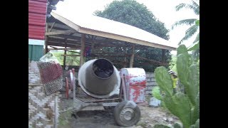 DAY 8 HOUSE EXTENSION STORAGE INCREDIBLE PROGRESS READY FOR  OCCUPANCY SOON EXPAT PHILIPPINES